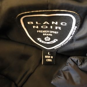blanc noir Jackets & Coats - Blanc Noir Down Blend Vest